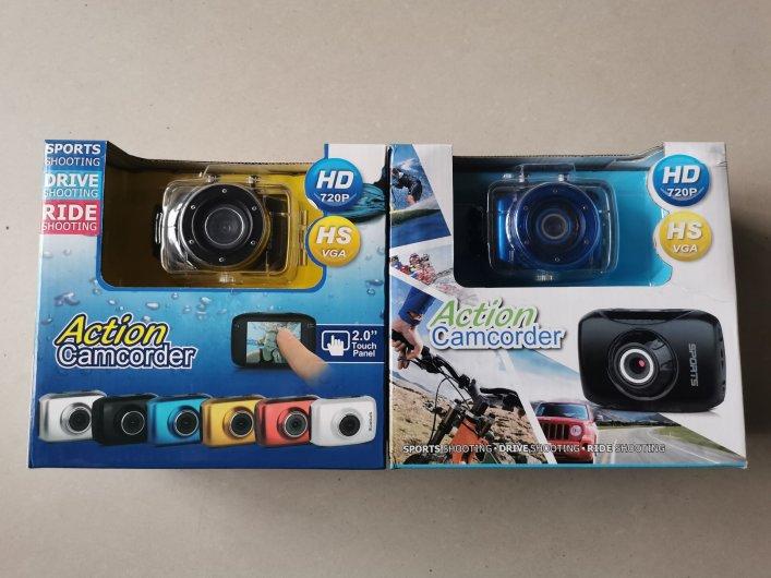 几十个防水运动相机 拿去玩