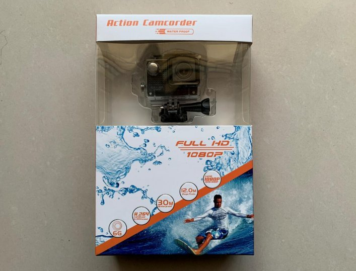 速甩 防水运动相机